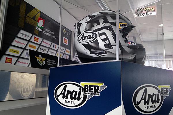 Arai-BER con il CIV anche nel 2015