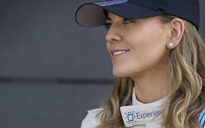 Susie Wolff Official Test Driver Williams 2015