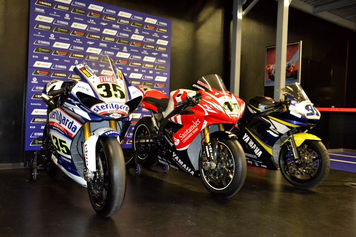 MTS: moto in regalo da Yamaha Motor Racing