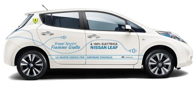 LEAF: le Fiamme Gialle adottano la mobilità elettrica