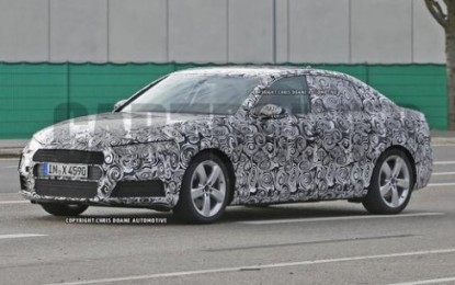 Spy: Audi A4 Sedan