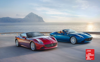 Ferrari California T premiata anche in Svizzera