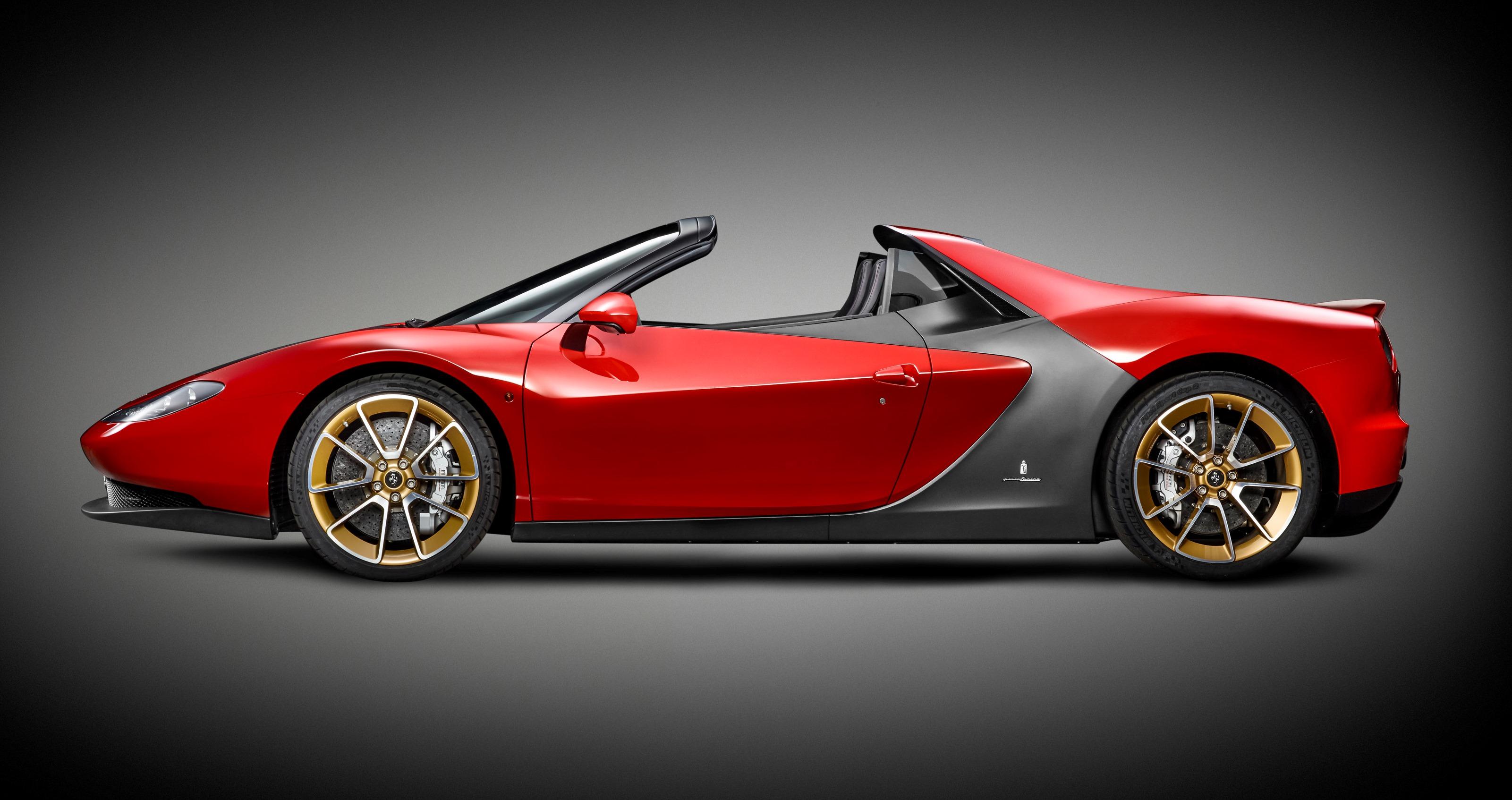 Ferrari Sergio: sei esemplari per celebrare Pininfarina