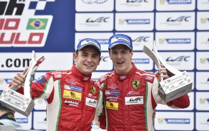 FIA WEC: Rigon chiude la stagione con podio e Titolo per la Ferrari