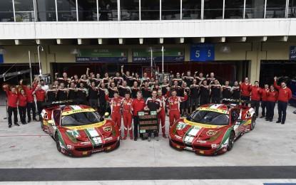 FIA WEC: Ferrari conquista il Titolo Costruttori GT
