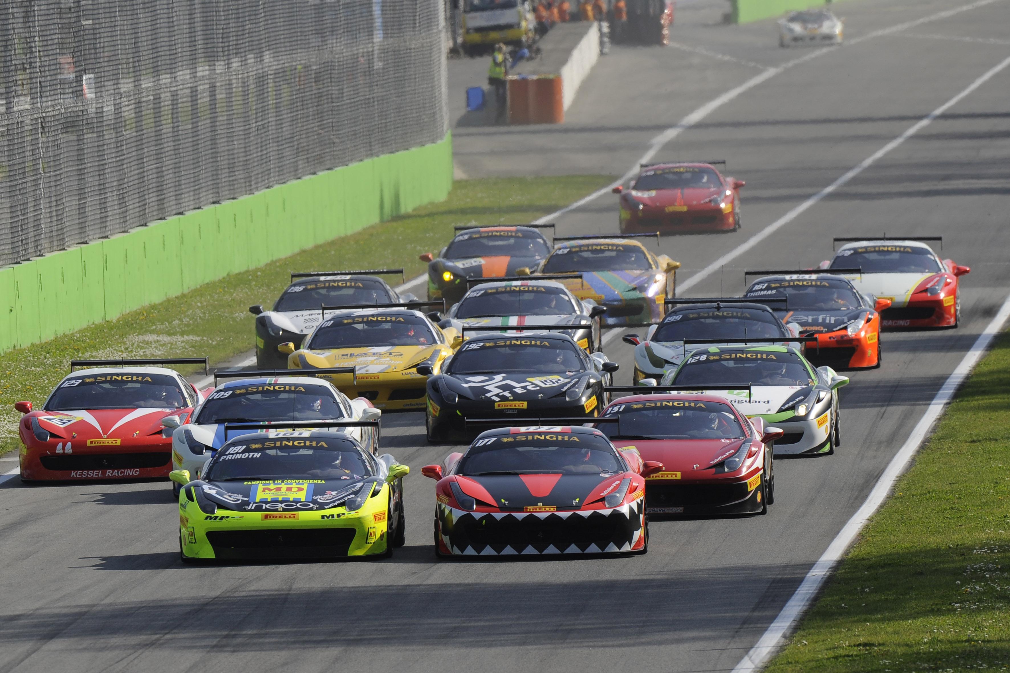 Ferrari Challenge: svelato il calendario 2015