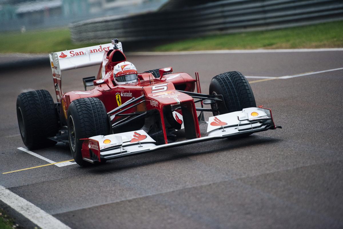 Sebastian Vettel, il tedesco #5 di Maranello