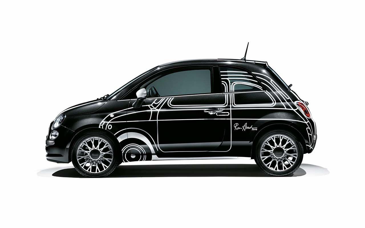 """Fiat """"500 Ron Arad Edition"""": si aprono gli ordini"""