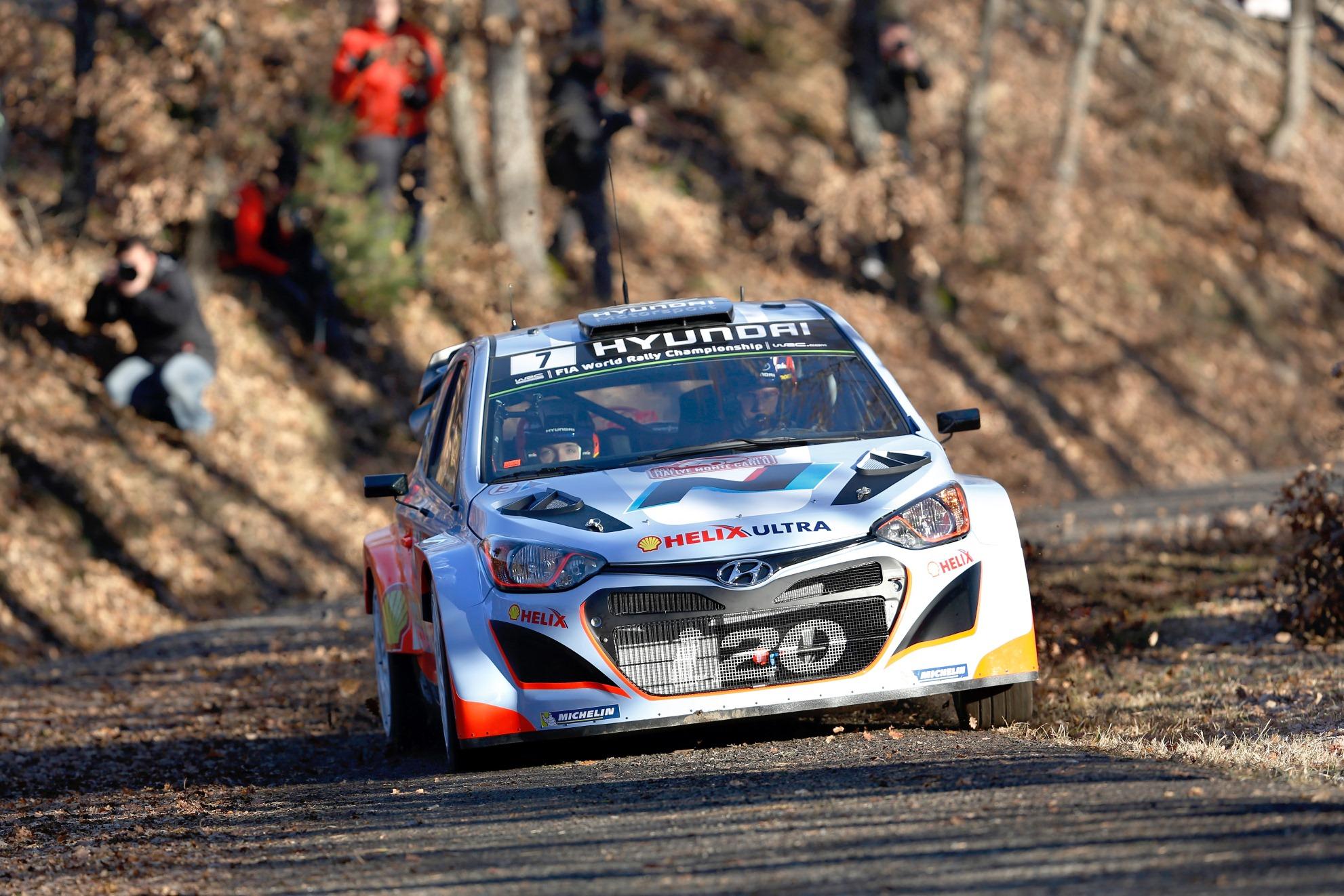 Hyundai Motorsport si prepara per il 2015