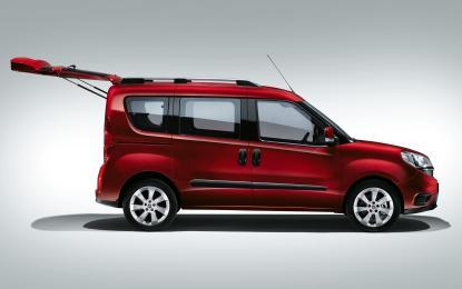 Nuovo Fiat Doblò: l'Active Family Space