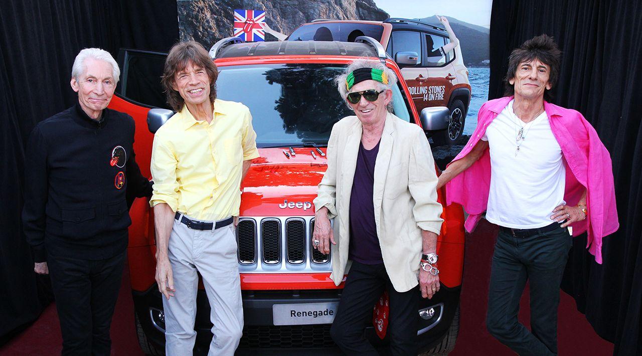 46mila dollari per la Renegade autografata dai Rolling Stones