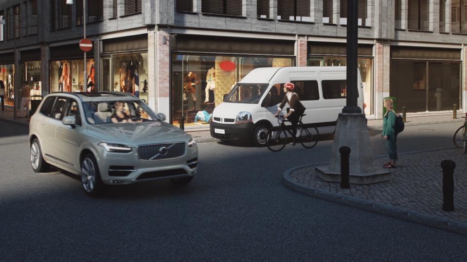 Volvo: una tecnologia innovativa per i ciclisti