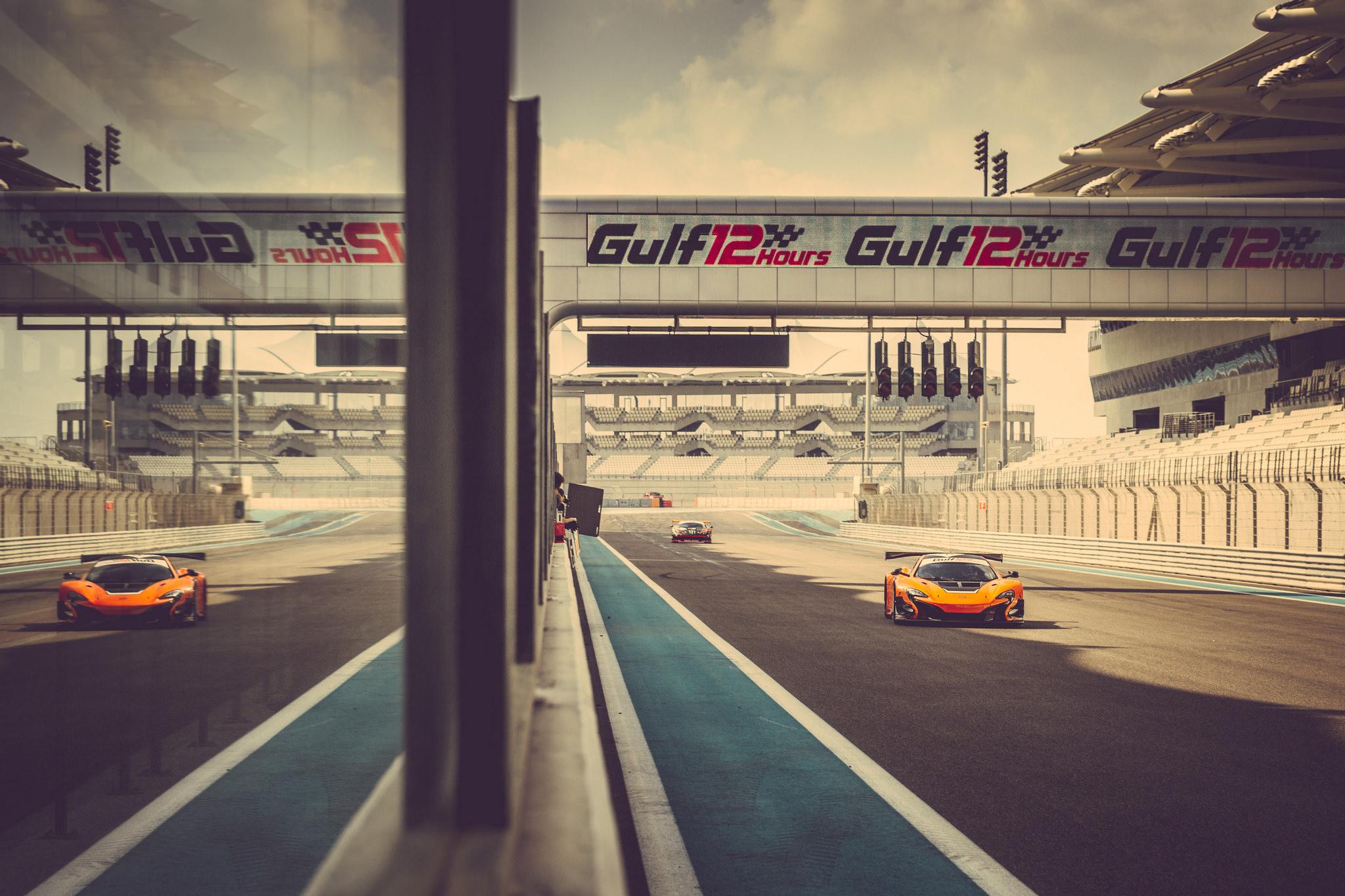 McLaren 650S GT3 a podio alla 12 Ore del Golfo