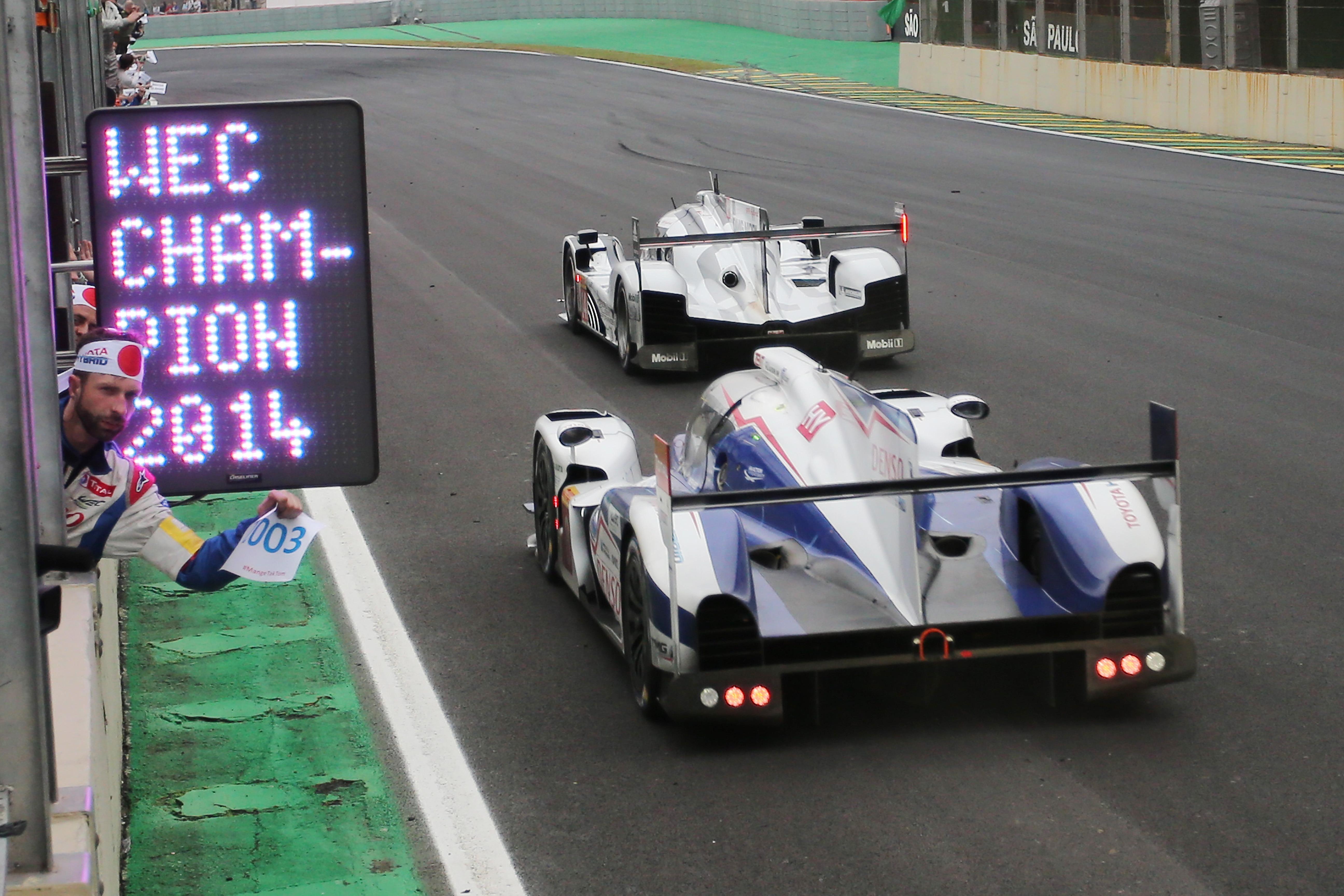 FIA WEC: Toyota Racing World Champions 2014