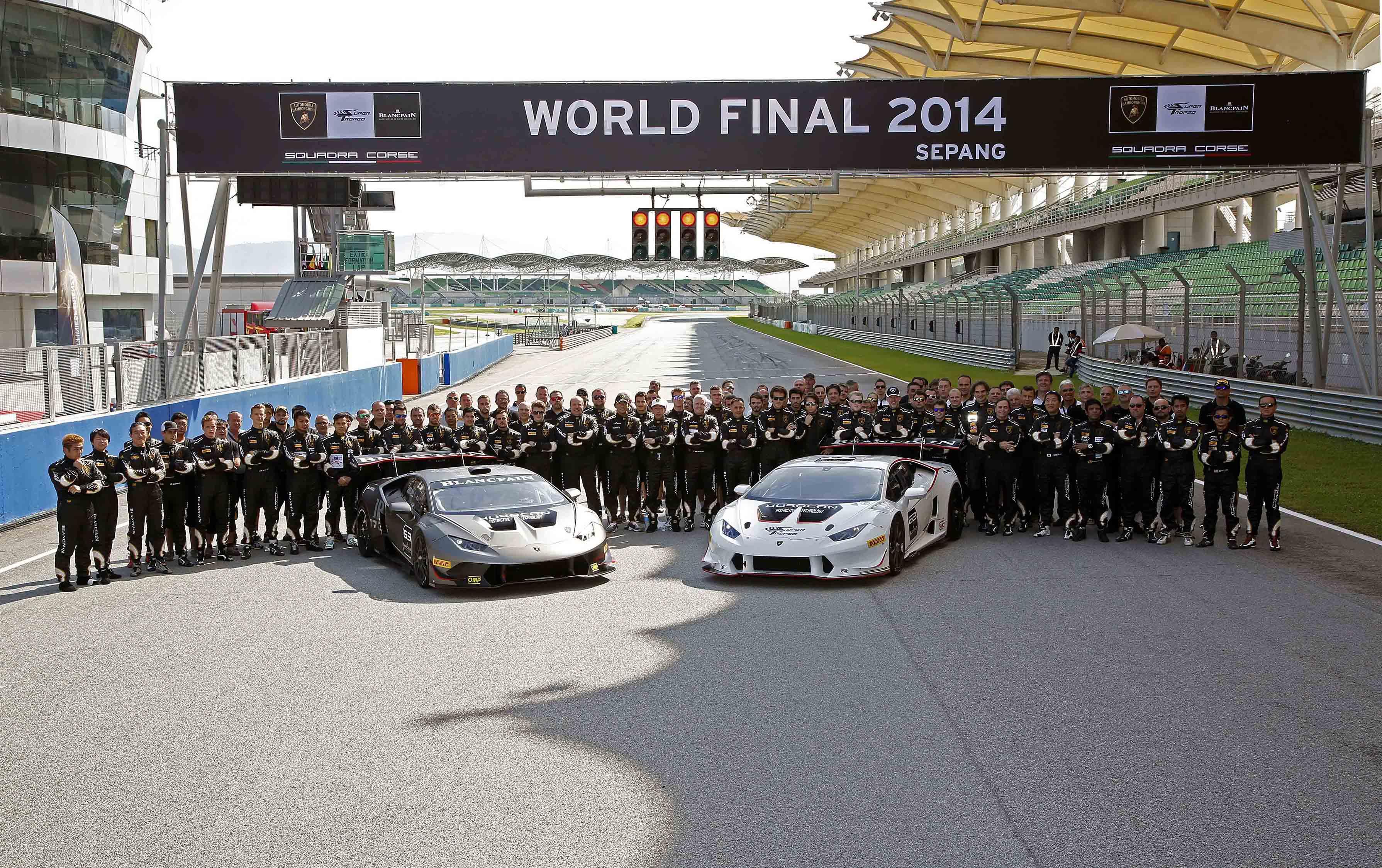 Lamborghini Super Trofeo 2015: il calendario