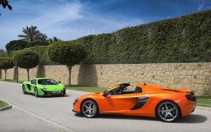 McLaren 650S: premi in tre continenti