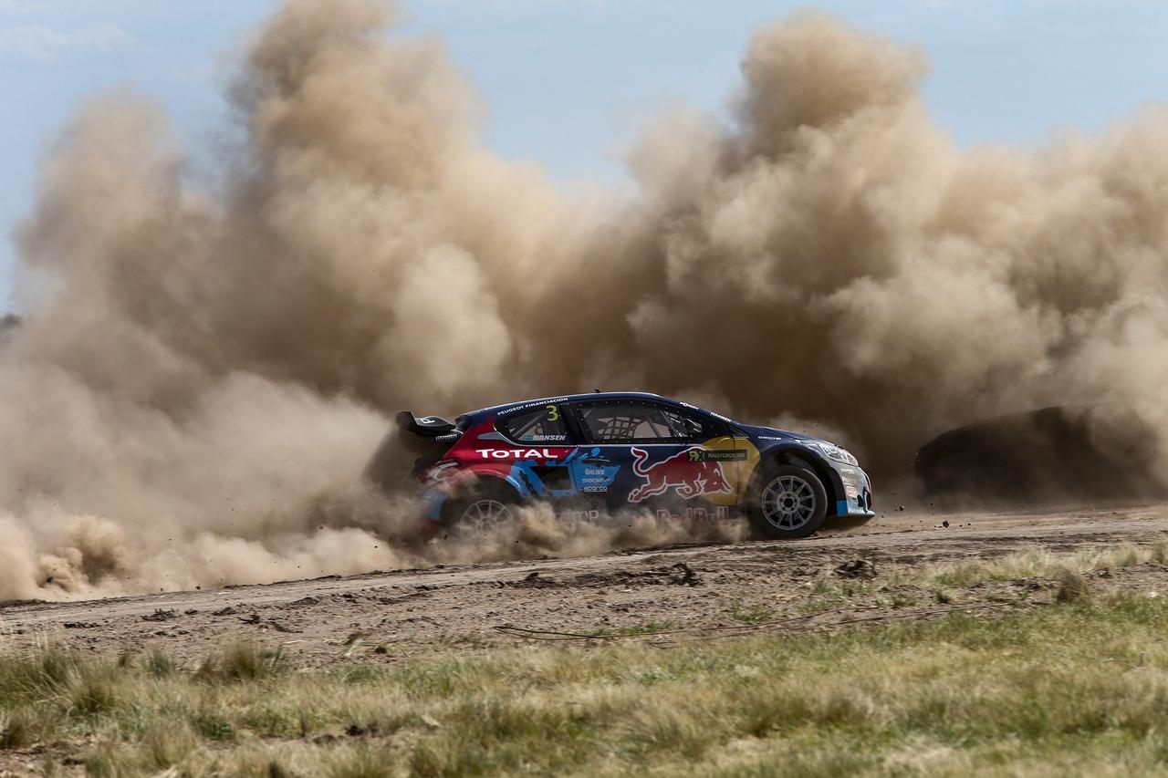RallyCross: Peugeot-Hansen e 208 T16 WRX terzi in Campionato
