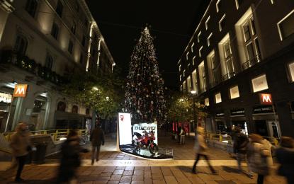 Ducati sotto l'albero a Milano