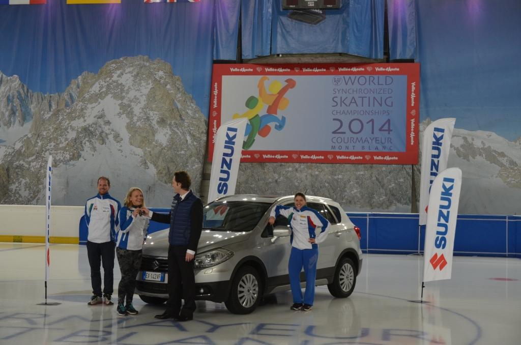 Suzuki S-CROSS 4WD ALLGRIP per Arianna Fontana