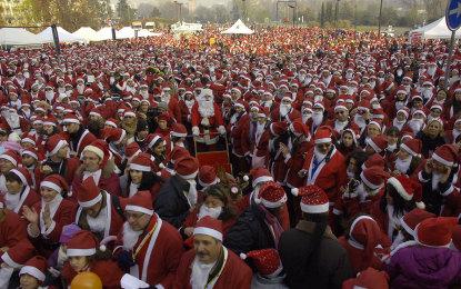 Mirafiori Motor Village cuore del raduno dei Babbi Natale