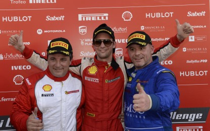 Abu Dhabi: avvio di weekend al top per Rossocorsa