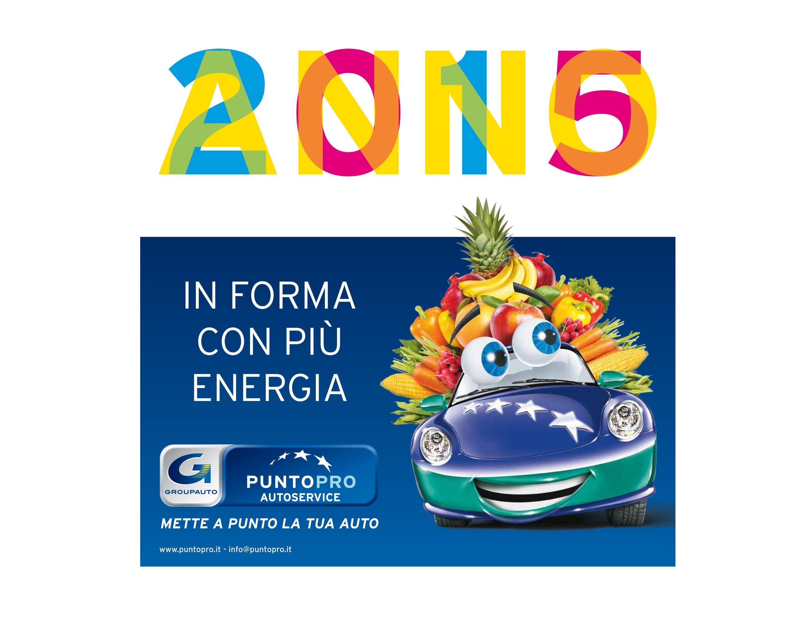 PUNTOPRO 2015: in forma con più energia
