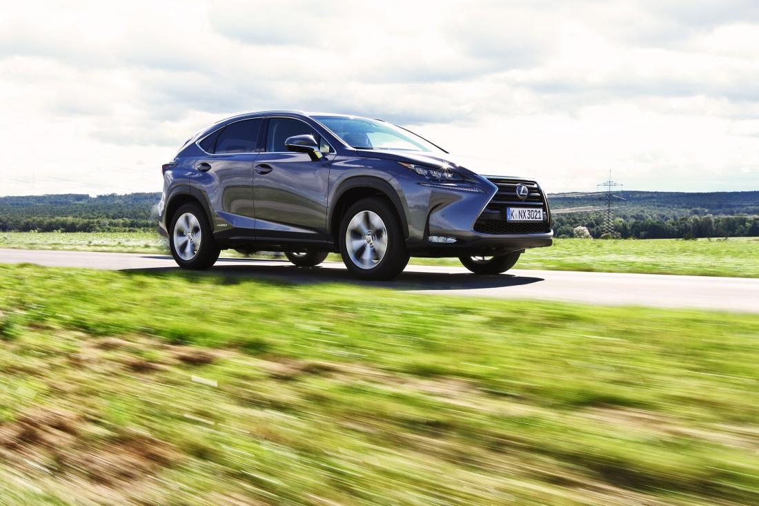 Lexus NX Hybrid: sicurezza a 5 stelle