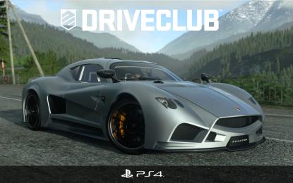 Al volante di Evantra con Sony PS4 DRIVECLUB