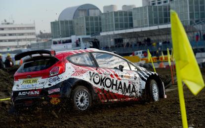 Un podio tutto Yokohama al Motor Show