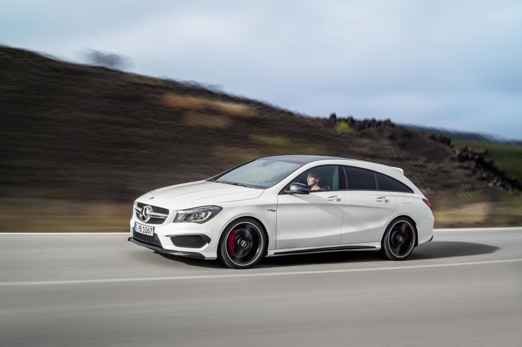 Nuova CLA 45 AMG Shooting Brake