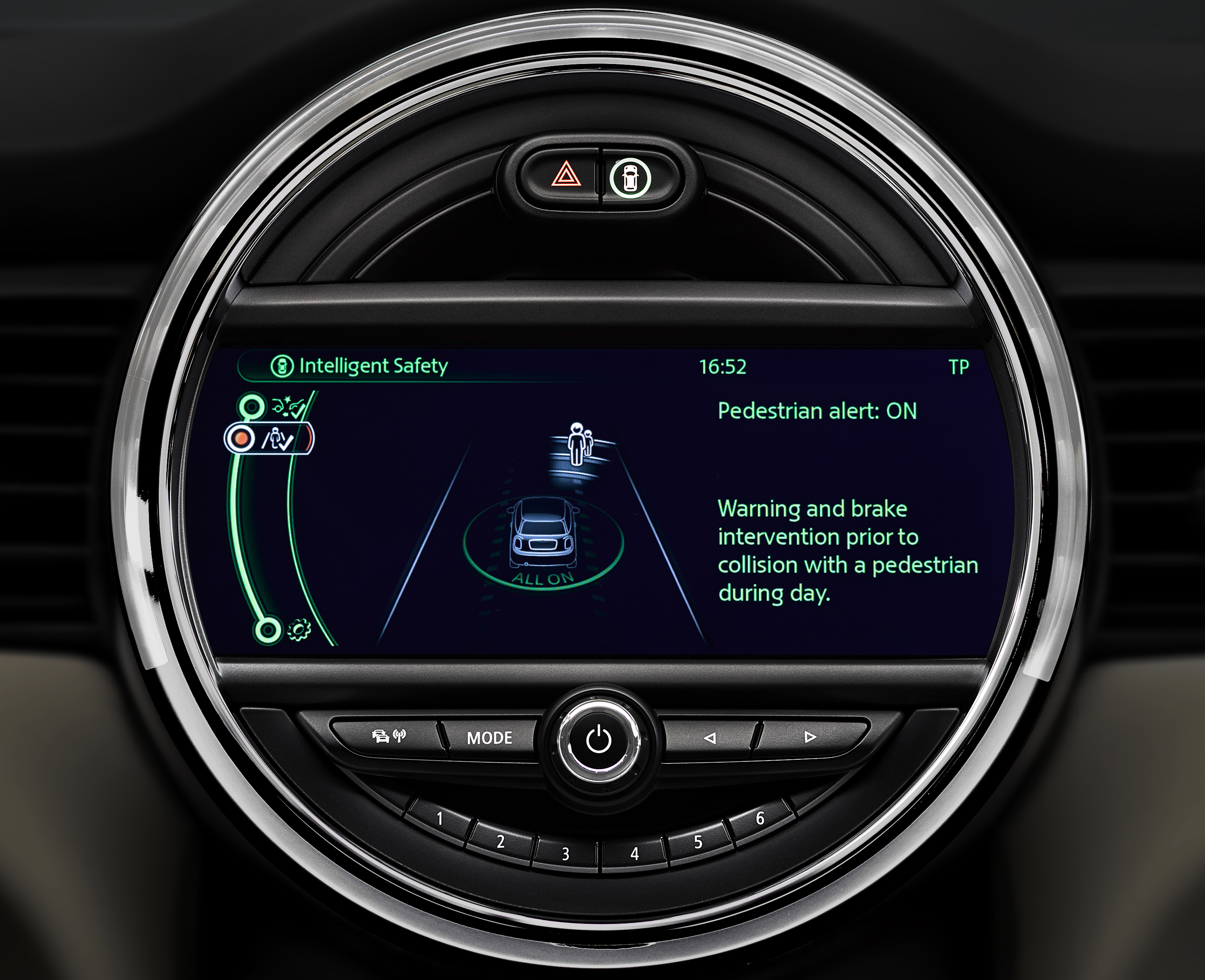 MINI: al Driving Assistant l'EuroNCAP Advanced