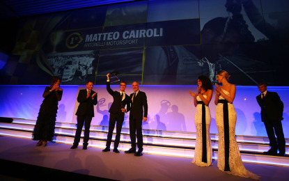 Carrera Cup Night 2014: Matteo Cairoli re della serata