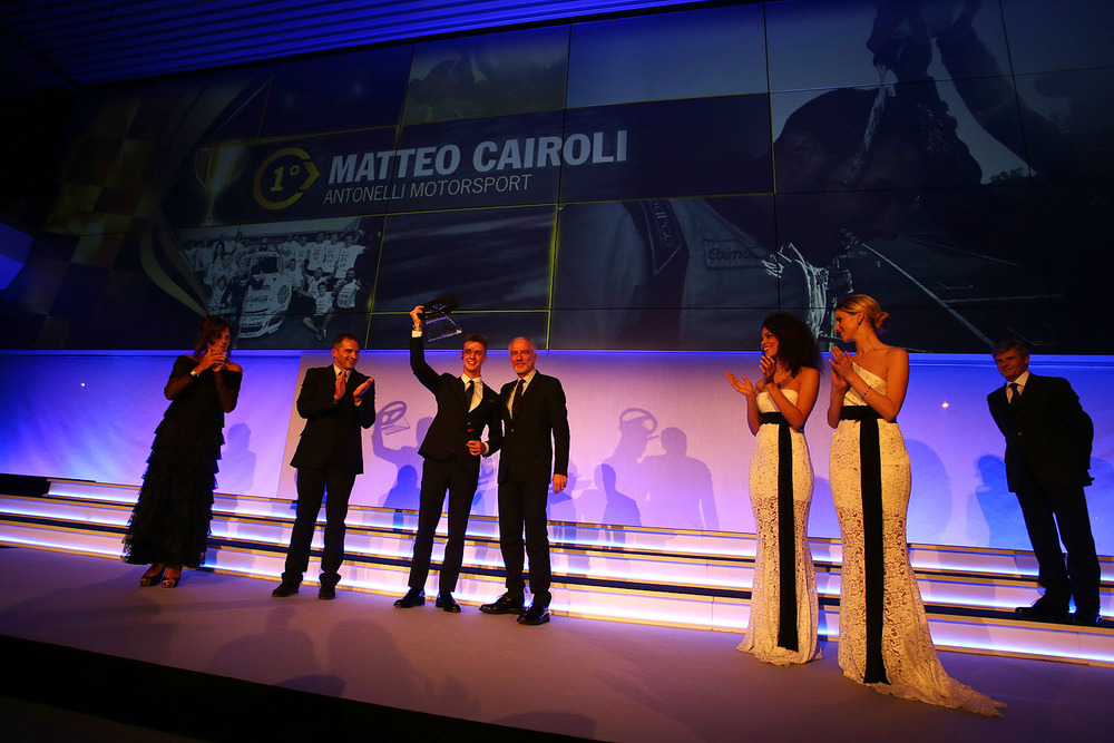 Carrera Cup Night 2014: Matteo Cairoli re della serata