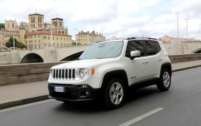 Jeep Renegade: sicurezza a cinque stelle