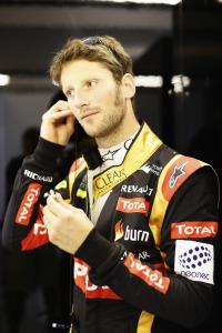 Yas Marina Circuit, Abu Dhabi, United Arab Emirates.Sunday 23 November 2014.Romain Grosjean, Lotus F1.Photo: Alastair Staley/Lotus F1 Team.ref: Digital Image _Y0K8829