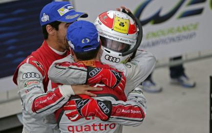FIA WEC: finale carico di emozione per Audi