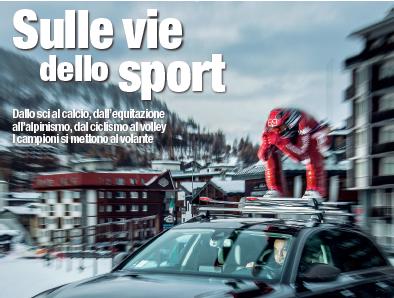 """Corriere Motori: lunedì in regalo """"Sulle vie dello sport"""""""