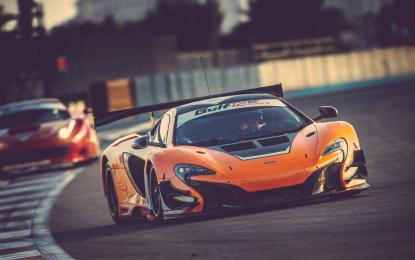McLaren 650S GT3: pole al debutto