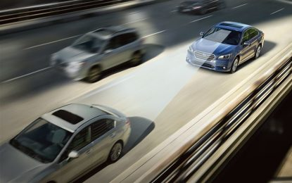 Subaru EyeSight: debutto in primavera