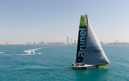 Volvo Ocean Race: seconda tappa al Team Brunel