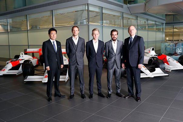 McLaren-Honda annuncia Alonso & Button per il 2015