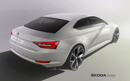 ŠKODA Superb: stile innovativo