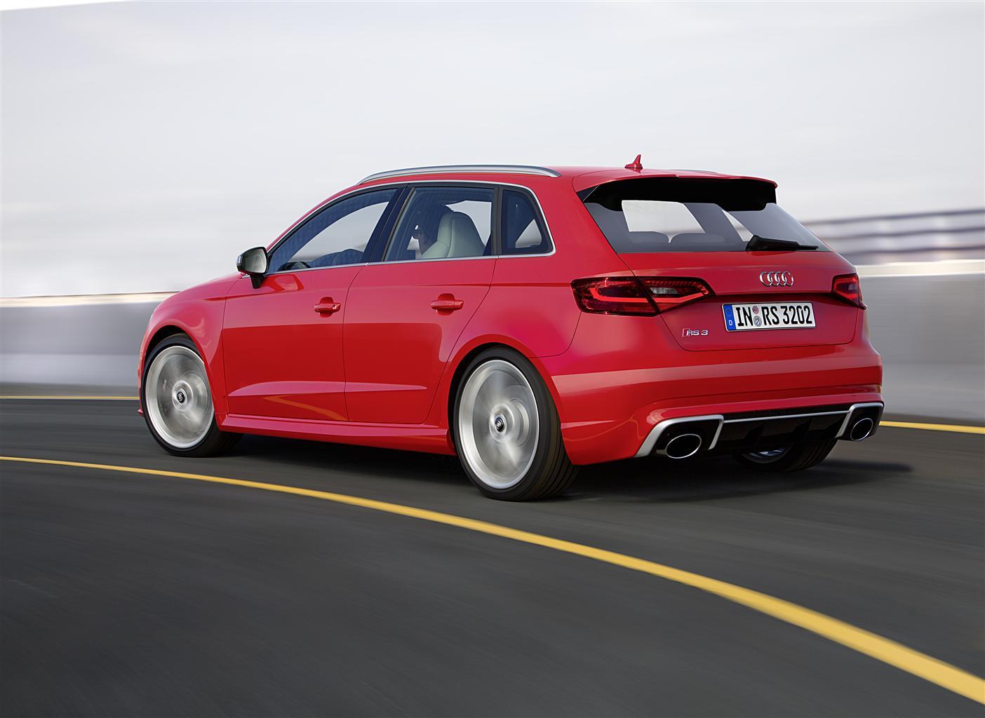 Audi RS 3 Sportback: potenza compatta