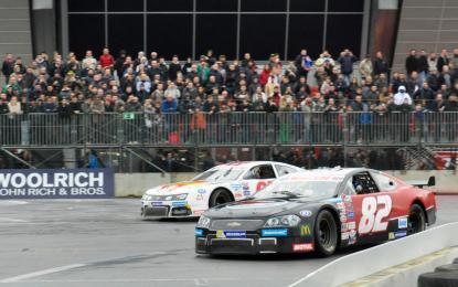 NASCAR Whelen Series: Rocca e Guerin brillano al Motor Show