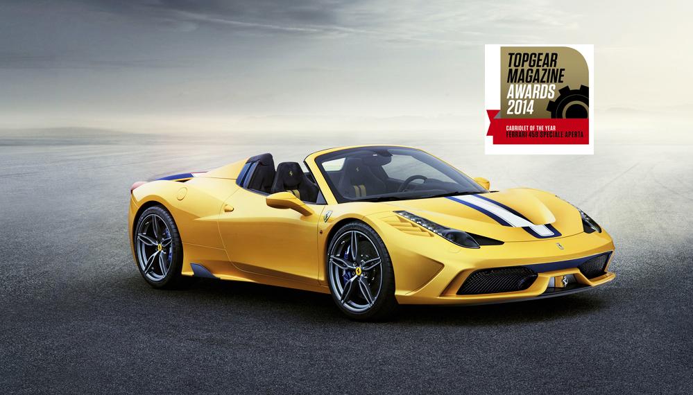 Top Gear incorona la Ferrari e Montezemolo