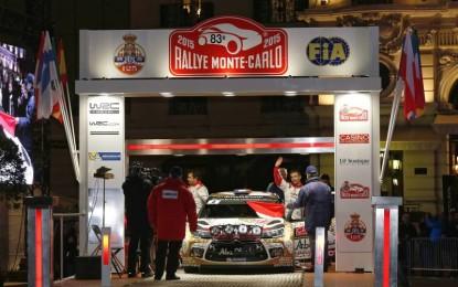 Loeb e Elena in testa al Monte Carlo