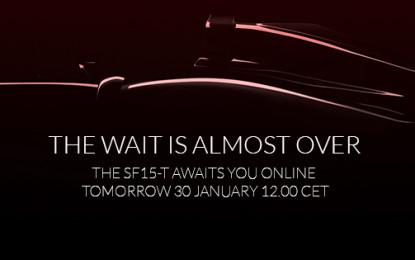 SF15-T: domani è il gran giorno!