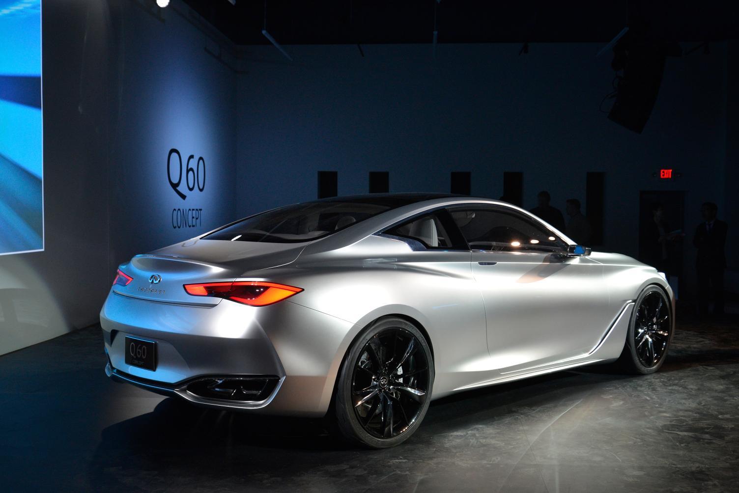 Detroit: Infiniti Q60 Concept