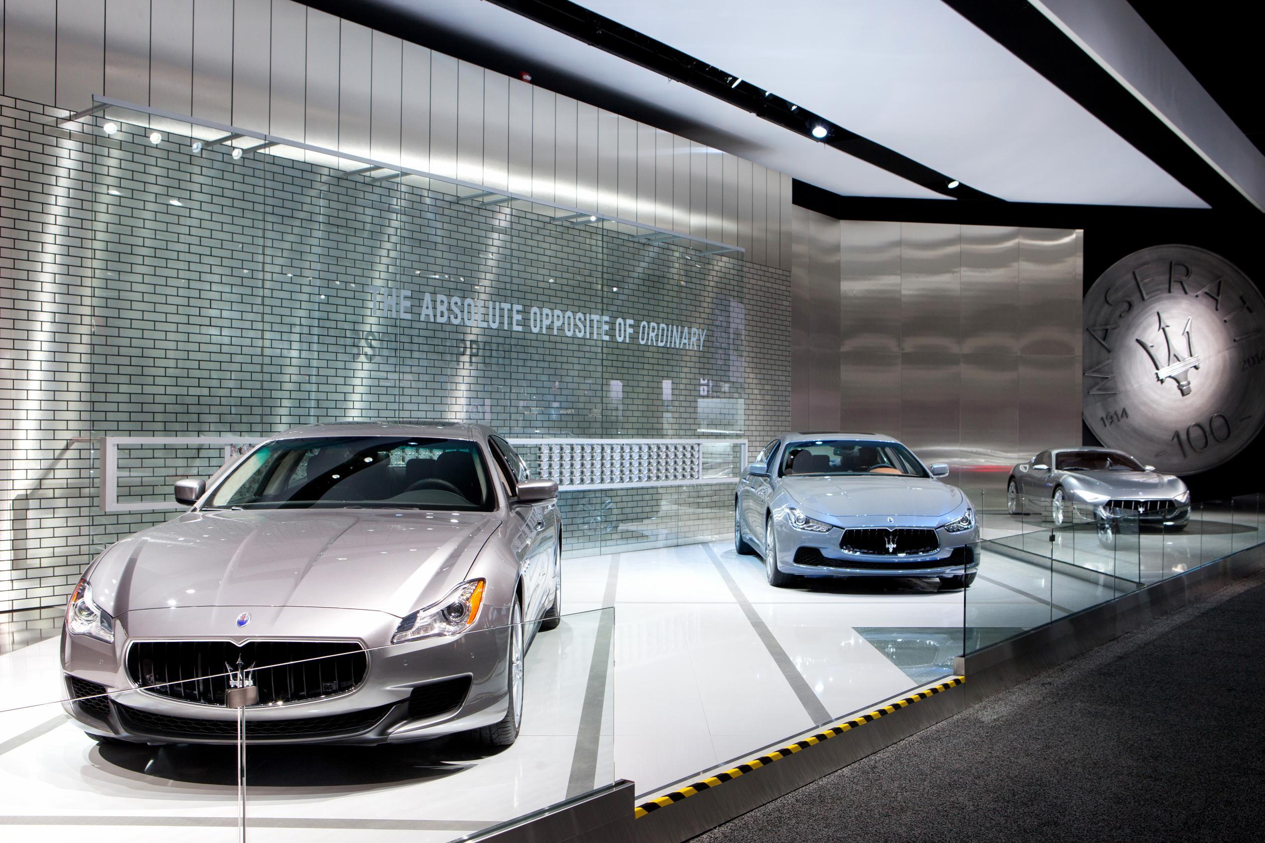 Detroit: Maserati guarda al futuro con un 2014 record