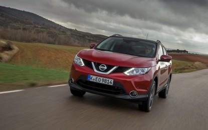 Nissan Qashqai: nuovo motore EURO6